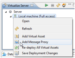 Working with Message Proxies in Parasoft Virtualize | OurHints